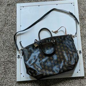 Genuine Florentine Vacchetta Leather D&B Bag